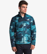 Load image into Gallery viewer, Men's The North Face ThermoBall Eco Jacket in Mid Grey Matte from the front