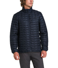Load image into Gallery viewer, Men's The North Face ThermoBall Eco Jacket in Urban Navy Matte from the front