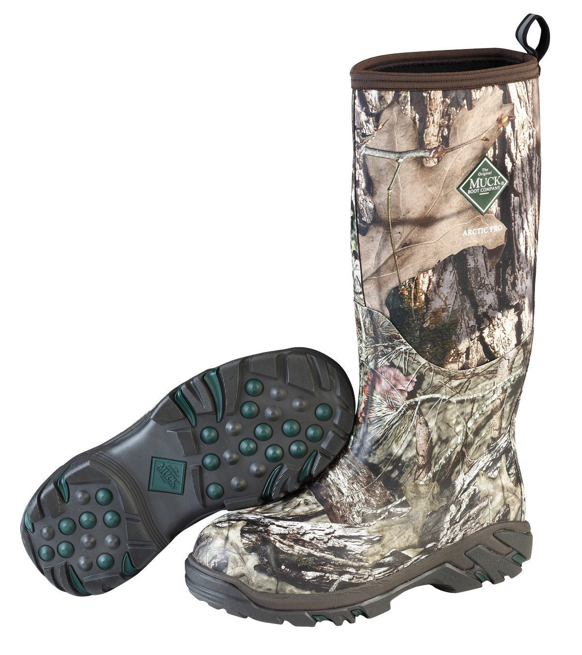 Unisex Muck Boot Arctic Pro Boot in Mossy Oak Country