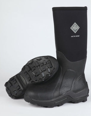 Unisex Muck Boot Arctic Sport Hi Boot in Black