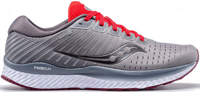 Saucony Men's Guide 13 Running Shoe in Alloy Red Side Angle View