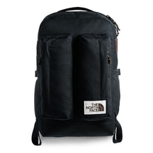 Load image into Gallery viewer, The North Face Crevasse Backpack in TNF Black Heather from the front