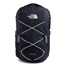 Load image into Gallery viewer, The North Face Jester Backpack in Aviator Navy Light Heather/TNF White from the front