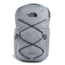Load image into Gallery viewer, The North Face Jester Backpack in Mid Grey Dark Heather/TNF Black from the front
