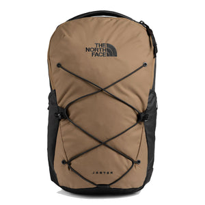 The North Face Jester Backpack in Moab Khaki/Asphalt Grey from the front