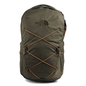 The North Face Jester Backpack in New Taupe Green/Utility Brown from the front