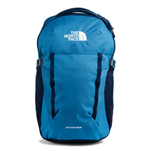 Load image into Gallery viewer, The North Face Pivoter Backpack in Aviator Navy Light Heather/TNF White from the front