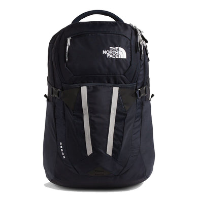 The North Face Recon Backpack in Aviator Navy/Meld Grey from the front