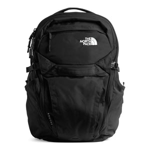 The North Face Router Backpack in TNF Black from the front