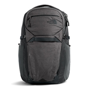 The North Face Router Backpack in TNF Dark Grey Heather/Asphalt Grey from the front
