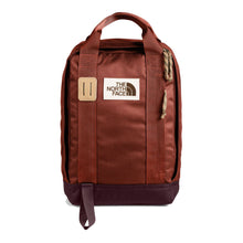 Load image into Gallery viewer, The North Face Tote Pack Backpack in Brandy Brown/Root Brown from the front
