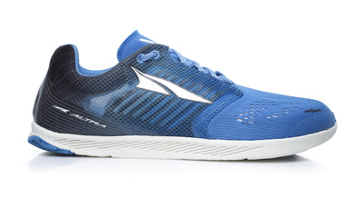 Altra Unisex Vanish R Road Running Shoe in Dark Blue from the side