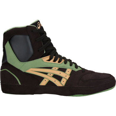 Unisex Asics International Lyte Wrestling Shoe in Black/Caravan