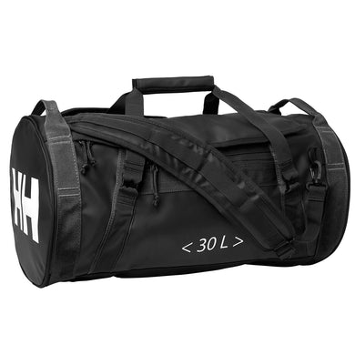 Helly Hansen Unisex 30-Liter Duffel Bag 2 in Black from the side