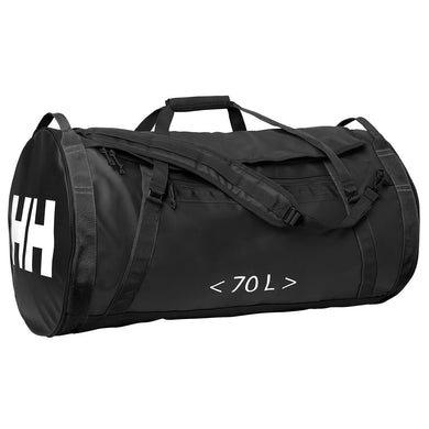 Helly Hansen Unisex 70-Liter Duffel Bag 2 in Black from the side