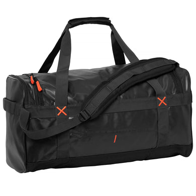 Helly Hansen Unisex 90-Liter Duffel Bag in Black from the front