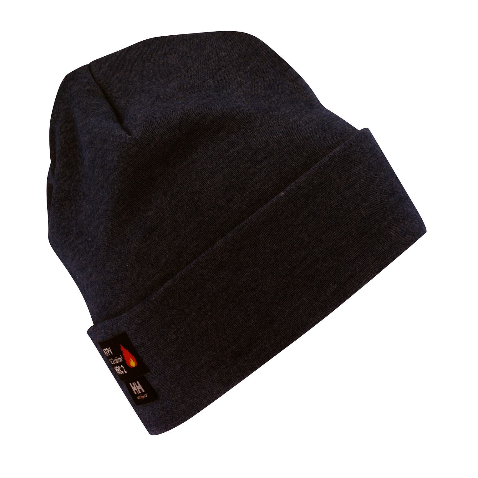 Helly Hansen Unisex Fargo Flame Retardant Tuque Hat in Black from the front