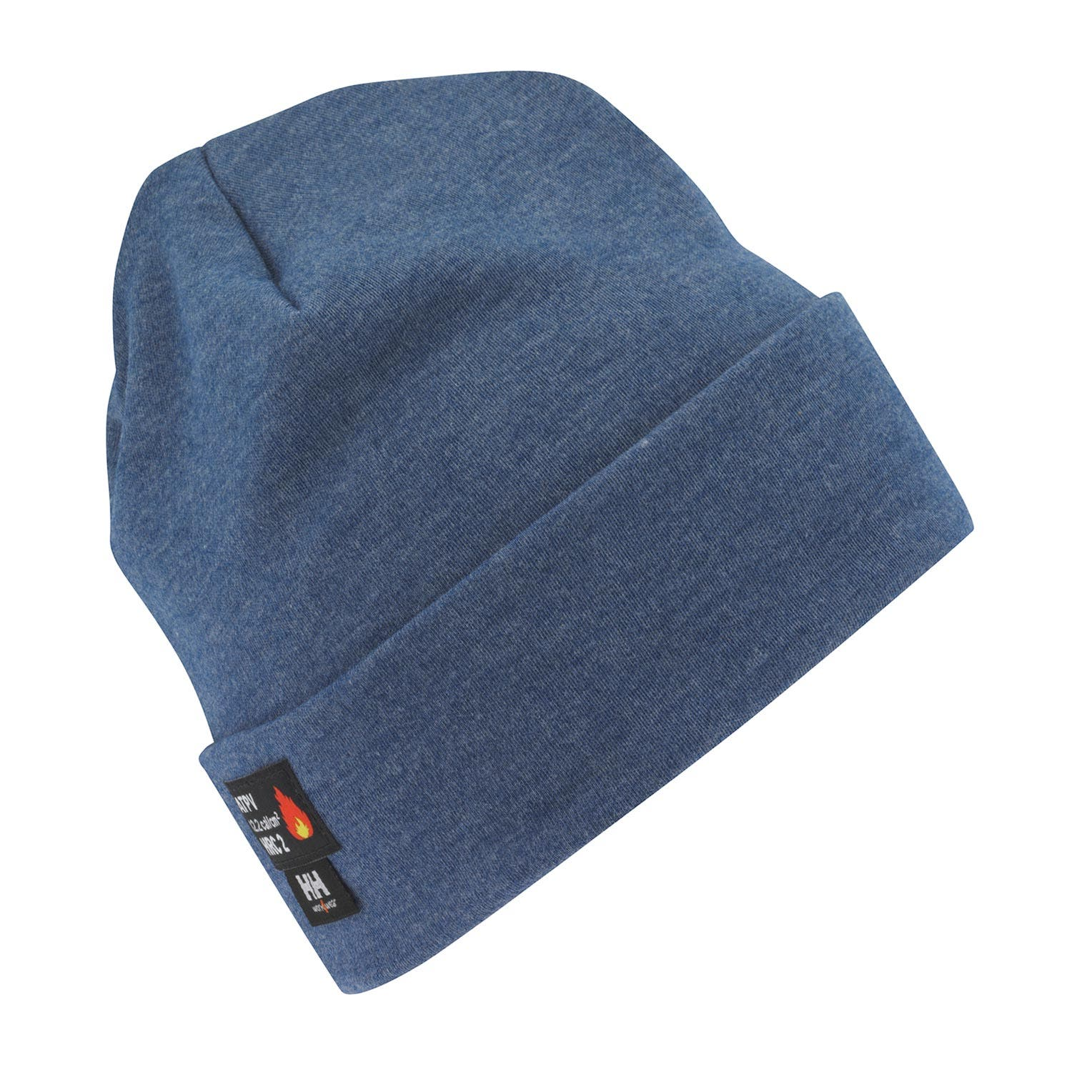 Helly Hansen Unisex Fargo Flame Retardant Tuque Hat in Navy from the front