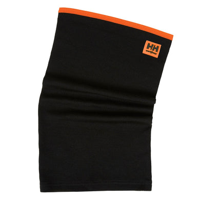 Helly Hansen Unisex HH Lifa Max Neck Gaiter in Black from the front