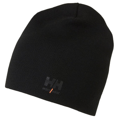 Helly Hansen Unisex HH Lifa Merino Beanie in Black from the front