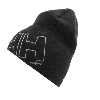 Helly Hansen Unisex HH Ww Beanie in Black from the front