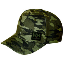 Load image into Gallery viewer, Helly Hansen Unisex Kensington Cap in Camo from the front