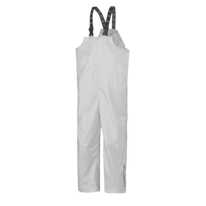Helly Hansen Men's Processing Bib in White from the front