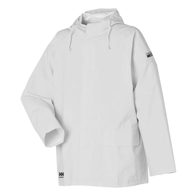 Helly Hansen Men's Processing Jacket in White from the front