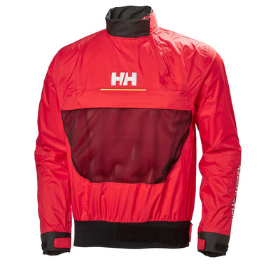 Helly Hansen Unisex Smock Top in Alert Red from the front