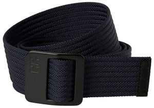 Helly Hansen Unisex Webbing Belt in Navy from the front