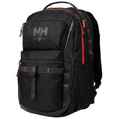 Helly Hansen Unisex Work Day Backpack in Black from the front