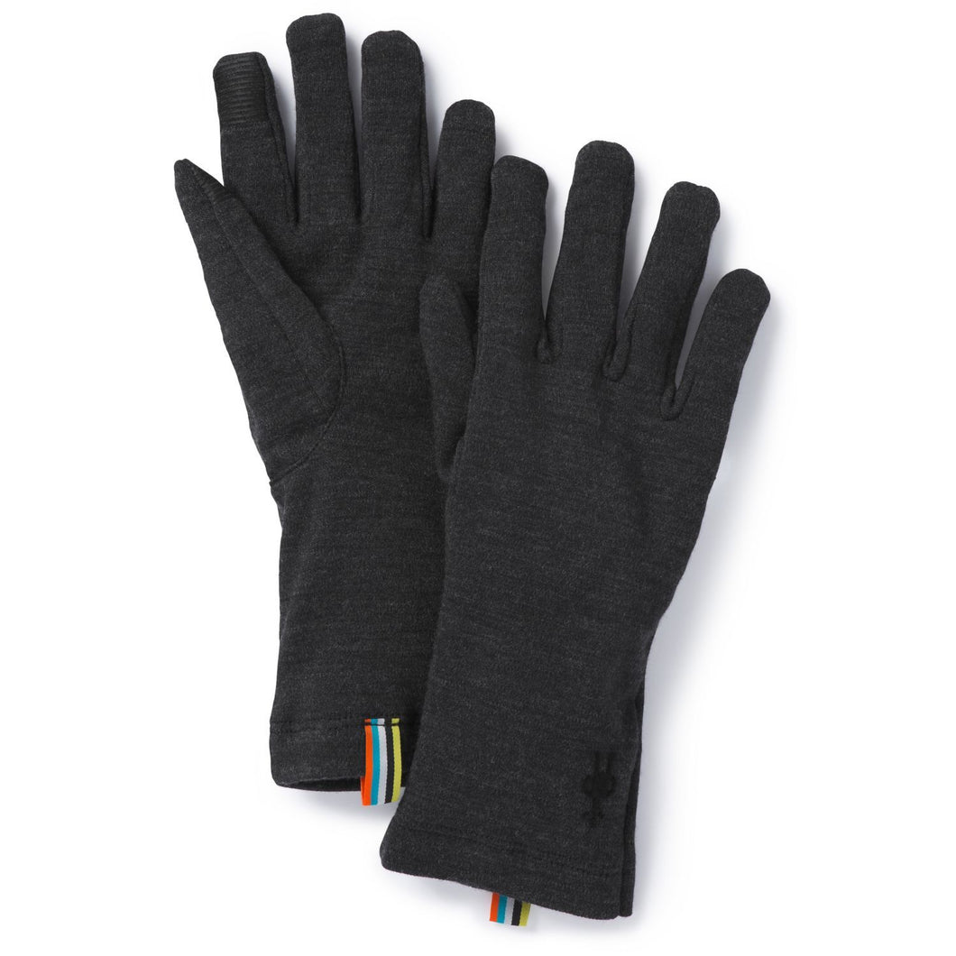 Unisex Smartwool Merino 250 Glove Charcoal in Heather