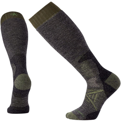 smartwool unisex phd hunt heavy otc sock in black