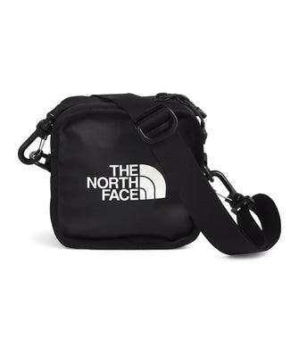 Unisex The North Face Explore Bardu II Bag in TNF Black/TNF White from front view