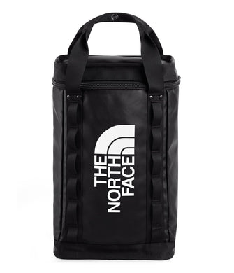 Unisex The North Face Explore Fusebox Daypack Small in TNF Black/TNF Black from front view