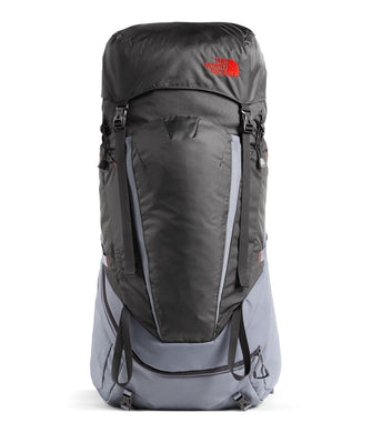 Unisex The North Face Terra 40 Backpack in TNF Black/TNF Black from front view