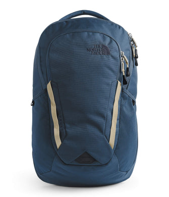 Unisex The North Face  Vault Backpack  in Blue Wing Teal/Twill Beige