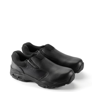 Thorogood 804-6520 Unisex ASR Composite Safety Toe Slip-On Shoe in Black from the side