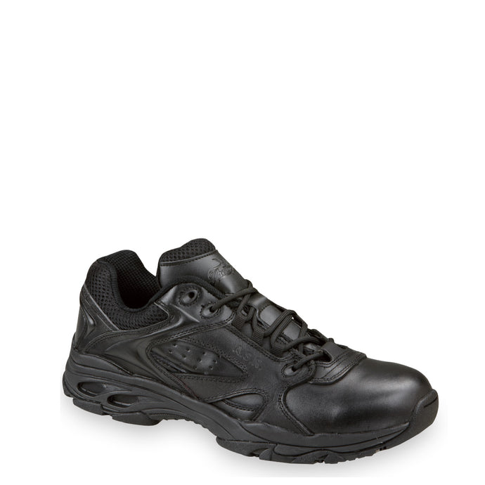 Thorogood 804-6522 Unisex Oxford ASR Composite Safety Toe Tactical Shoe in Black from the side