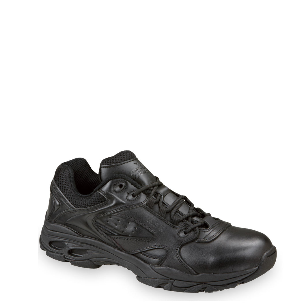 Thorogood 834-6522 Unisex Oxford ASR Non-Safety Toe Tactical Shoe in Black from the side