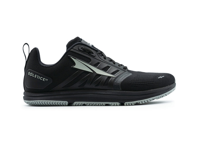 Altra Women's Solstice XT Cross Training Shoe in Black from the side