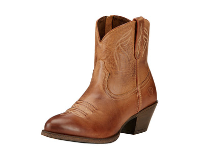Women's Ariat Darlin Western Boot in Burnt Sugar