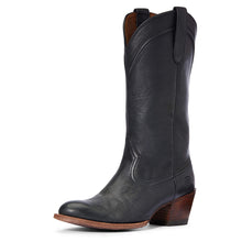 Load image into Gallery viewer, Women's Ariat Desert Paisley Western Boot in Black from the front