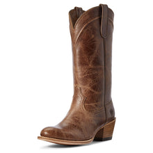 Load image into Gallery viewer, Women's Ariat Desert Paisley Western Boot in Dark Tan from the front