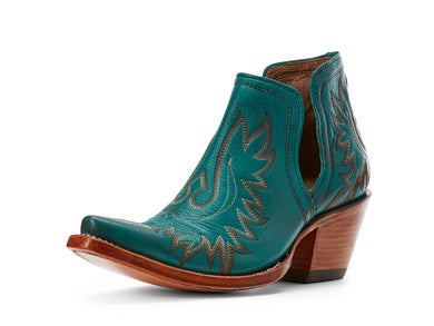 Women's Ariat Dixon Western Boot in Agate Green