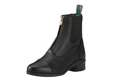 Load image into Gallery viewer, Women's Ariat Heritage IV Zip Paddock Boot in Black from the front
