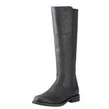 Load image into Gallery viewer, Women's Ariat Sutton Waterproof Country Boot in Black from the front
