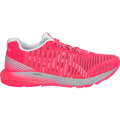 Women's Asics Dynaflyte 3 Running Shoe in Diva Pink/White