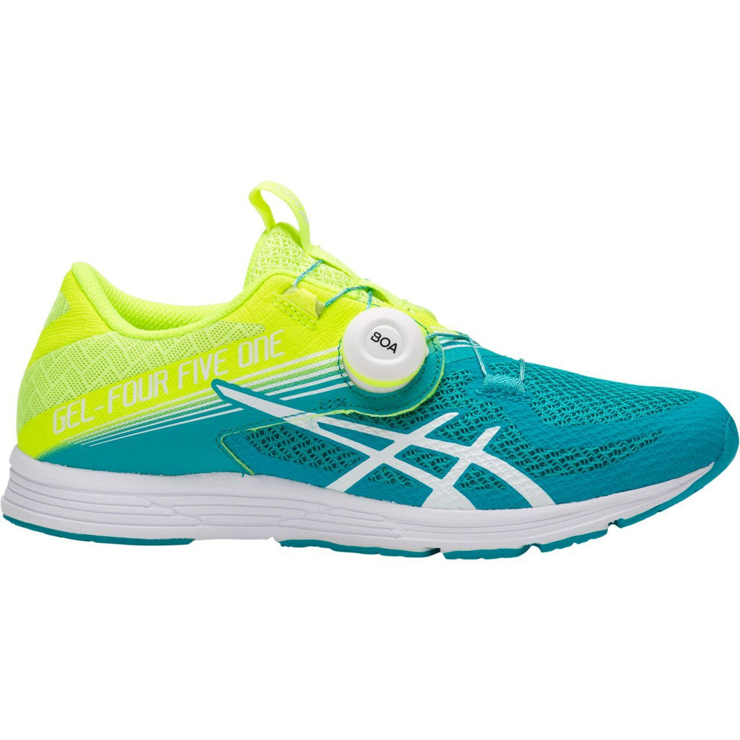 Women's Asics Gel-451 Running Shoe in Flash Yellow/Lagoon