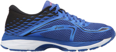 Women's Asics Gel-Cumulus 19 Running Shoe in Blue Purple/Black/Flash Coral